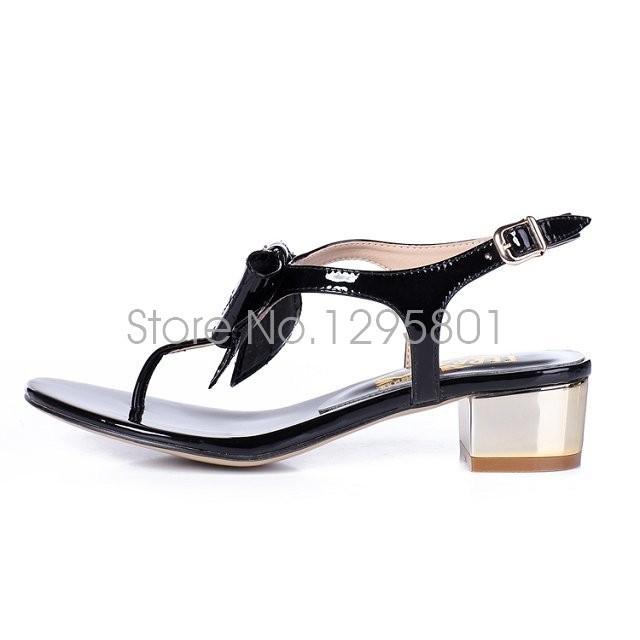 Гаджет  Fashion Bohemia Flip Flops women sandals wedges 2015 open-toed Slipper brand shoesFlat Sandals For Women Shoes Summer Sandali None Обувь