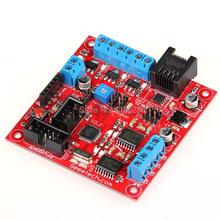 Geeetech 3D Printer Extruder Controller 2 2 PWM Driver DCMotor Driver Temperature Sensor Board RS485 Communication