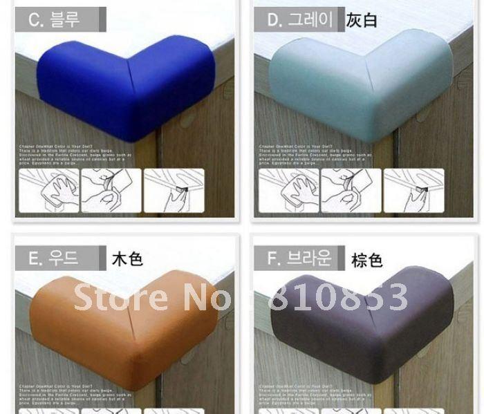 Бесплатная доставка уголок край подушки детские протектор Pad уголок подушки угловой крышка безопасности по уходу за ребенком 5 цвет