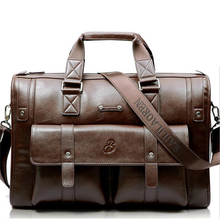 Baillr New 2017 Business Men's Briefcase Hot Sale 15 Inch Leather Laptop Bag Man Travel Handbags Brand Men's Messenger Bag A219(China (Mainland))