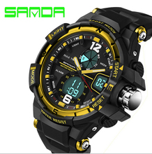 Men Digital Sports Watches Japan Movt Diving Stopwatch Army Military Watch 50ATM Waterproof Sports Wristwatch for