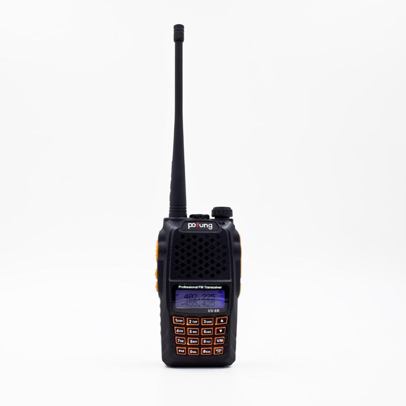 Baofeng Two Way Radio UV-6R UV-6 Plus Portable Radio Walkie Talkie 5W 128CH UHF/VHF Dual Band Handled Transceiver Baofeng uv6r(China (Mainland))