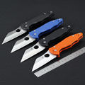 58 61HRC CPM S30V Blade Folding Knife Spyder Survival Knife Pocket Hunting Tactical Knives Camping Outdoor