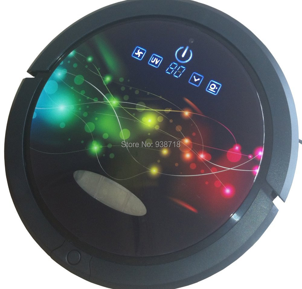 The FIRST suction of robot vacuum cleaner , with turnning mop - QQ-6M<br><br>Aliexpress