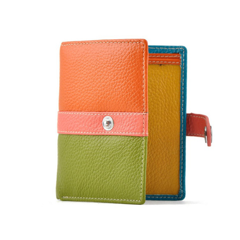Free shipping clearance first layer of soft leather wallet short two-fold wallet wallet scarce number of special funds<br><br>Aliexpress