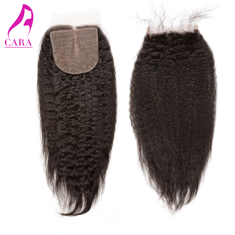 6A Peruvian Kinky Straight Silk Base Closure 4x4 Bleached Knots Peruvian Virgin Hair Full Lace Closure Rosa Queen Hair Products<br><br>Aliexpress