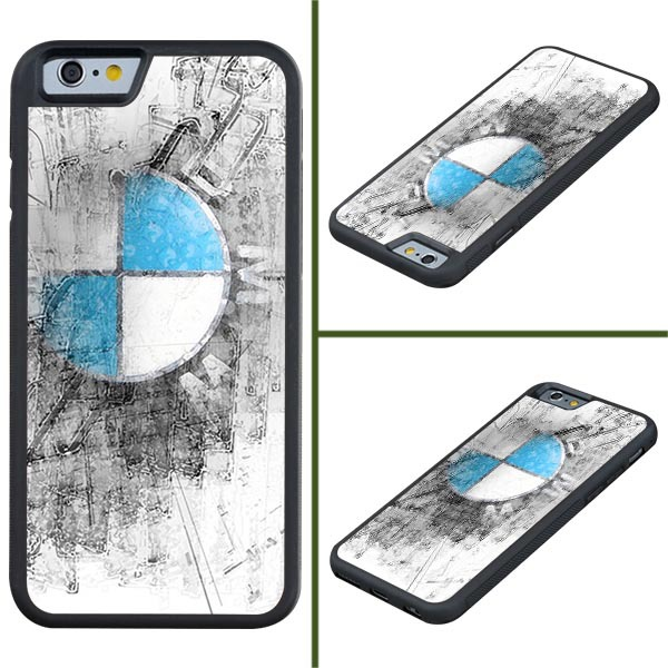 2015 For silm BMW logo cell phone case for iPhone 6 TPU Cover Case(China (Mainland))