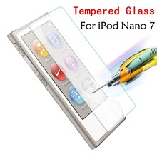 High Quality 0.26mm Ultra Thin 2.5D 9H Tempered Glass Premium Screen Protector For Apple iPod Nano 7 nano7 Protective Film