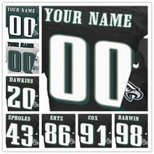 Men's Top Quality Stitched #20 Brian #43 Darren #86 Zach #91 Fletcher #98 Connor Elite Black Green White Jersey(China (Mainland))