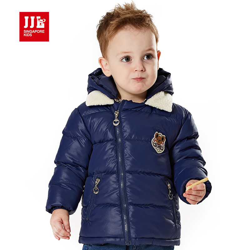 JJLKIDS baby boys clothes outerwear coat fashion kids jackets for boy girls warm winter jacket hooded children clothes 2015 new<br><br>Aliexpress
