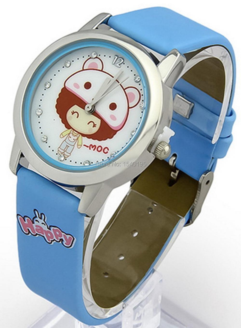 Kezzi KidsWatches K668 Quartz Analog Leather Strap Wrist Watch Cartoon Girls<br><br>Aliexpress