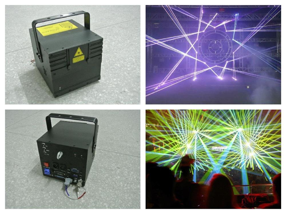 RGB 5W Laser Animation Show 5000mw disco light ILDA stage dj concert party lighting fixture event wedding bar club sound system(China (Mainland))