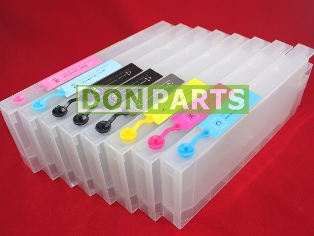 NEW 8 Pack Refillable Ink Cartridges For Epson Stylus Pro 4800 CISS<br><br>Aliexpress