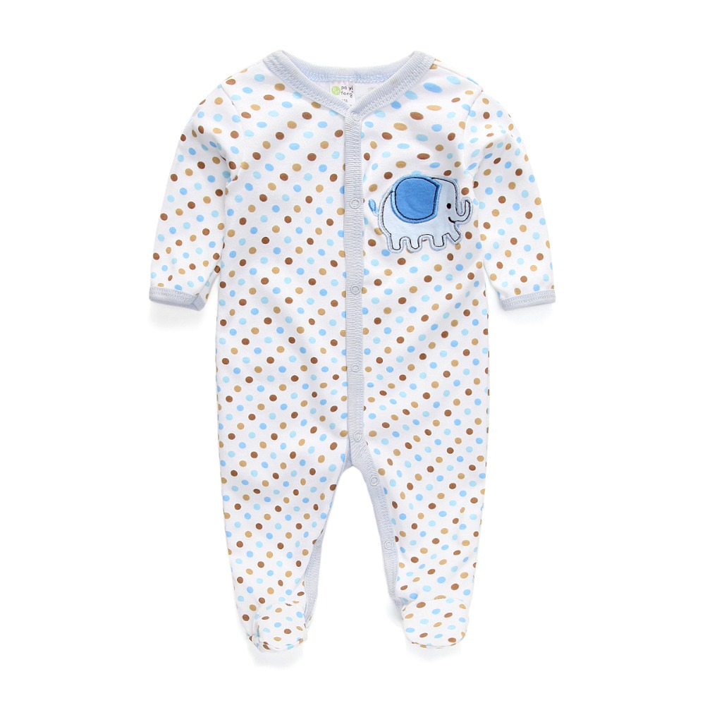 Baby Clothes Cute Cartoon Cotton Short Sleeve Unisex Baby Rompers(China (Mainland))