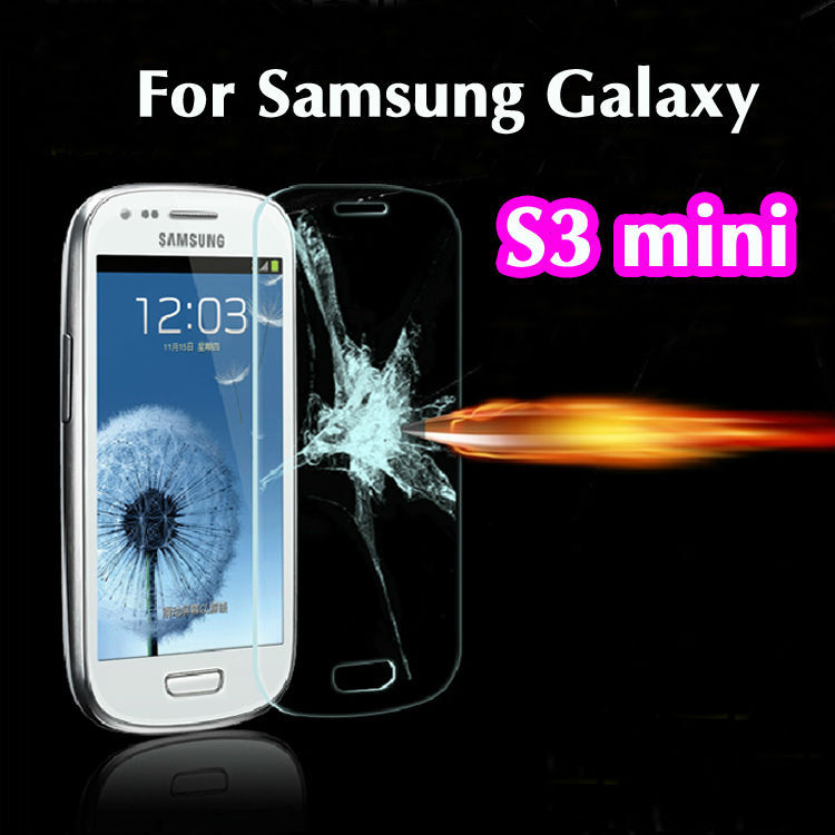 0.26mm 2.5D Explosion Proof Premium Tempered Glass Screen Protector Anti-scratch Film For Samsung Galaxy S3 Mini I8190<br><br>Aliexpress