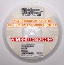 full reel 1% 0805 14.3R 14.3 OHMS 1/8W SMD Chip Resistor 5000pcs/reel YAGEO New Original Fixed - Viinko Electronics store