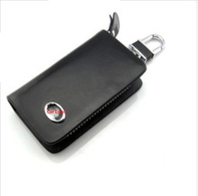 Leather car key cases Great Wall Haval H2 H3 H5 H6 H7 H8 IF Interior Accessories Key Case Car Cover Bag - SunShine store