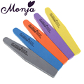 1pc Double Side Grit 100 180 Nail Art Files Block Buffer buffing Sanding Washable Sponge Polish