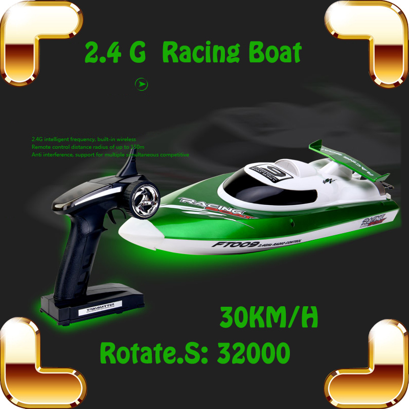 New Summer Gift 4 CH 2.4G RC Big Boat Racing Speedboat Electric Toys Ship High Speed Tracing River Drive Remote Control Machine(China (Mainland))