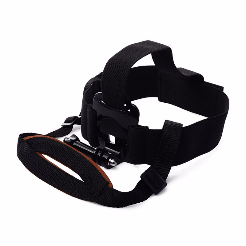 GoPro Elastic Adjustable Nylon Fixed Chin Head Strap Belt Mount for Go Pro Hero 5 4 Session 3+ 3 2 Xiaomi Yi Camera Accessories