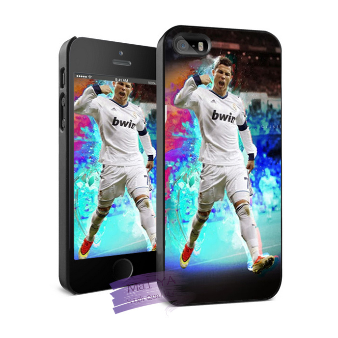 Free shipping After The Goal Cristiano Ronaldo CR7 Stylish Hard Plastic Cover Shell For iphone 4s 5s 5c 6 6 plus(China (Mainland))
