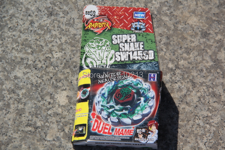 BEYBLADE Metal Fusion BB69 SUPER SNAKE SW145SD Poison Serpent Light Launch(China (Mainland))
