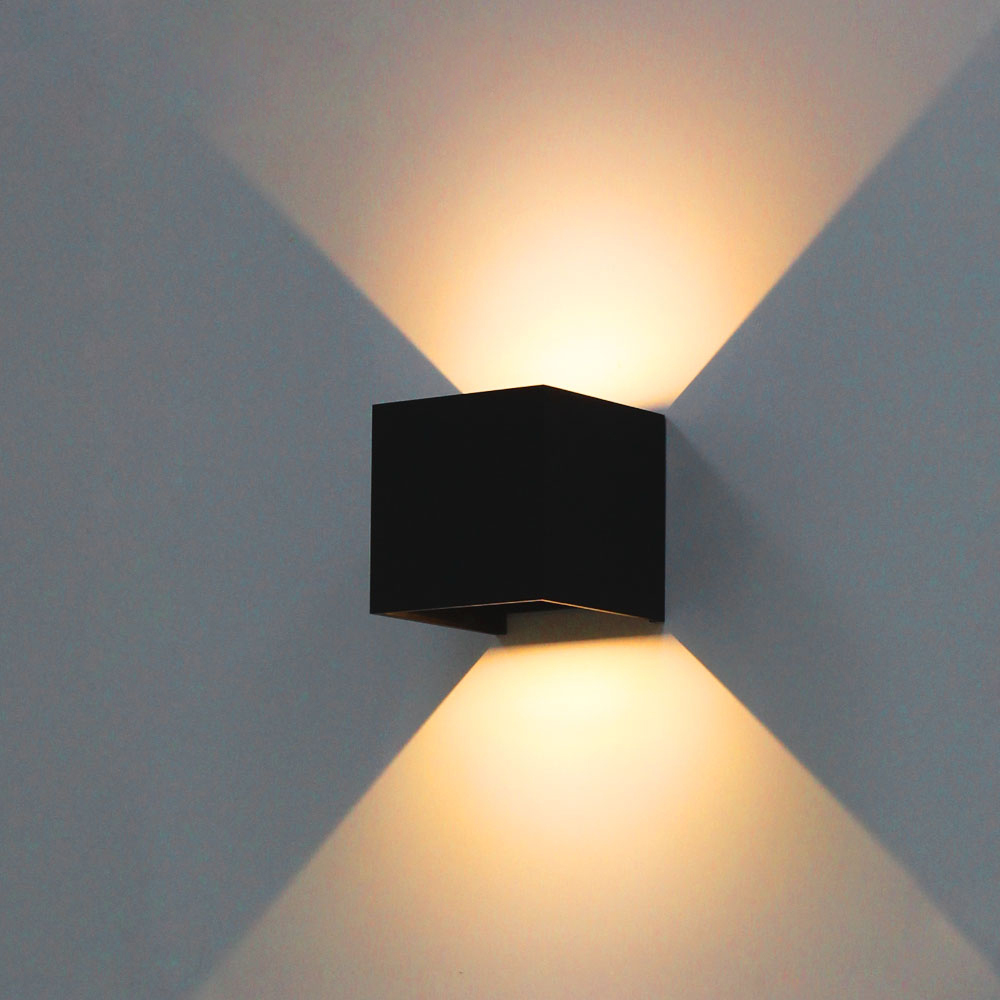 Buy modern brief cube adjustable surface for Exterior up and down lights led