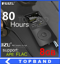 2016 últimas 8 GB ultrafino Mp3 with1.8 pulgadas de pantalla puede jugar 80 h, Original RUIZU X02 reproductor de música Mp3(China (Mainland))