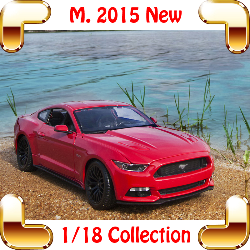 New Arrival Gift Maisto M2015 1/18 Large Model Car Metallic Delicate Sport Vehicle Alloy Collection Model Scale Decoration Toys<br><br>Aliexpress