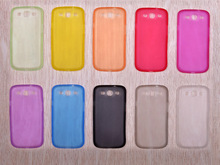 "GREAT PRICE Case For Samsung Galaxy S3 SIII I9300 4.8"" inch Ultra Thin Matte translucent back Cover Skin soft plastic(China (Mainland))"