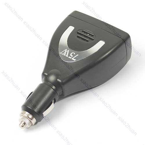 V115 12V DC to 220V AC Power Inverter + 5V USB Adapter 75W(China (Mainland))