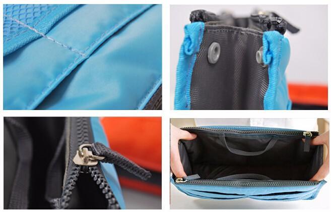 Organisateur de sac pochette rangement avec anses pour sac - Pochette rangement sac a main ...