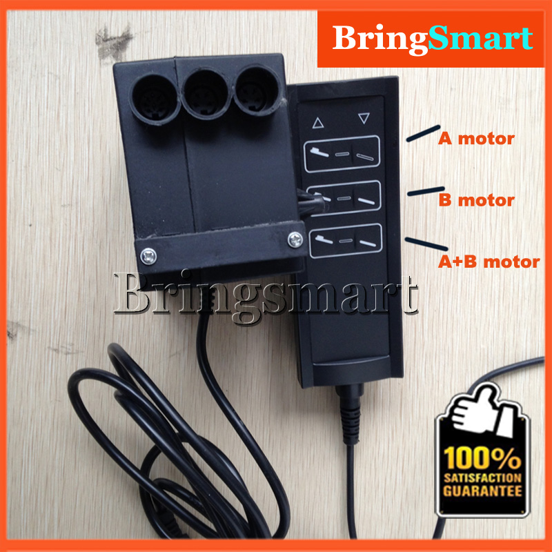 Wholesale 3 groups control model for 2pieces 24v linear for Power supply for 24v dc motor