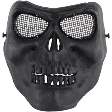 Buy Skull mask Retro imitation metal terror mask/cs protection Paintball Airsoft Masks Halloween horror Cosplay masks full half face for $18.36 in AliExpress store