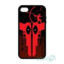 Fit for iPhone 4 4s 5 5s 5c se 6 6s 7 plus ipod touch 4/5/6 back skins cellphone case cover deadpool