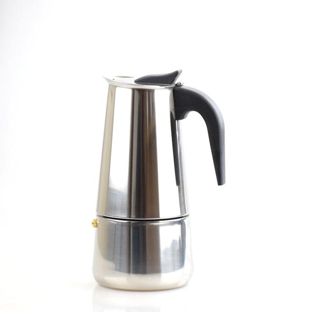 Coffee Maker Over Stove : Aliexpress.com : Buy Espresso Coffee Pots cafeteiras inox 2/4/6/9 cups percolator stove top ...