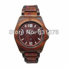 Lo nuevo de madera del reloj de lujo a estrenar Bewell madera reloj más calientes de madera del reloj para la navidad