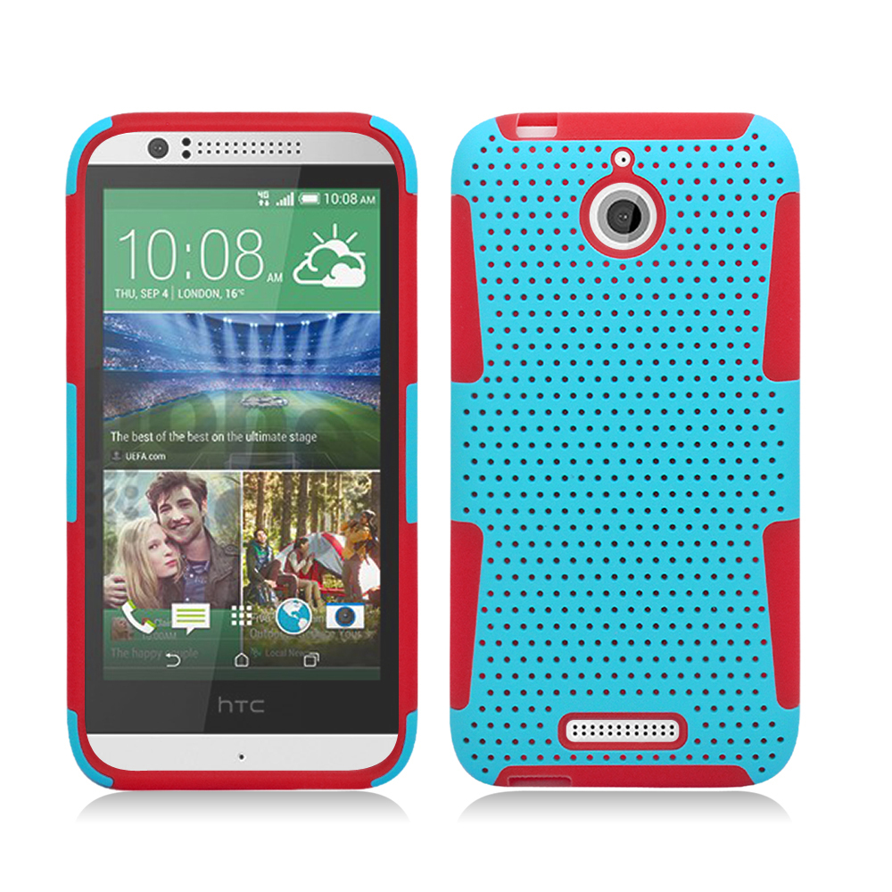 Factory Direct! For htc desire 510 cellular phone robot protector cellular phone sets silicone promotion(China (Mainland))