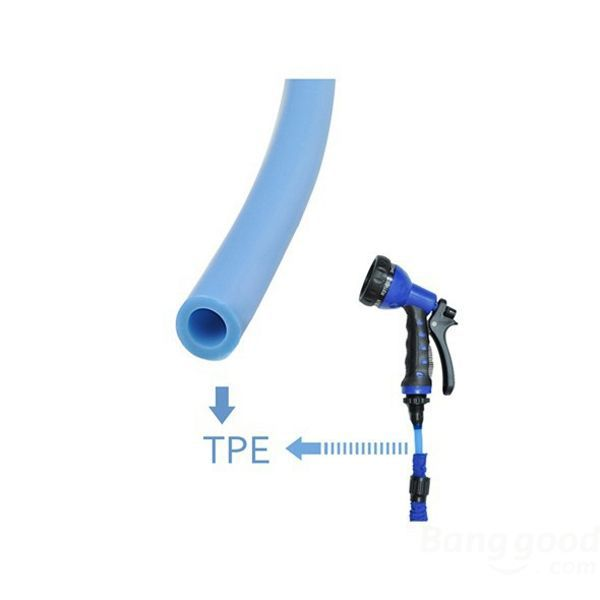 High quality Plastic Multifunctional Retractable Hose Water Pipe Nozzle(China (Mainland))