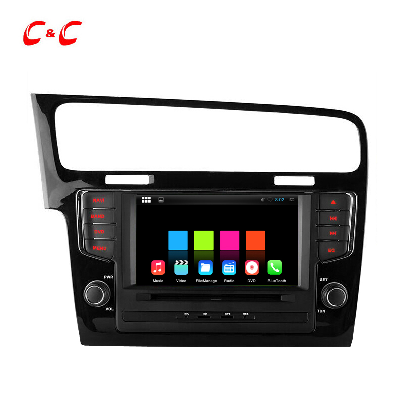 Dual core HD 1024*600 Android 4.4 Car DVD player for Volkswagen Golf 7 2013-2015 with GPS,Radio,RDS,SWC,Canbus,Wifi,Free 8G Map<br><br>Aliexpress