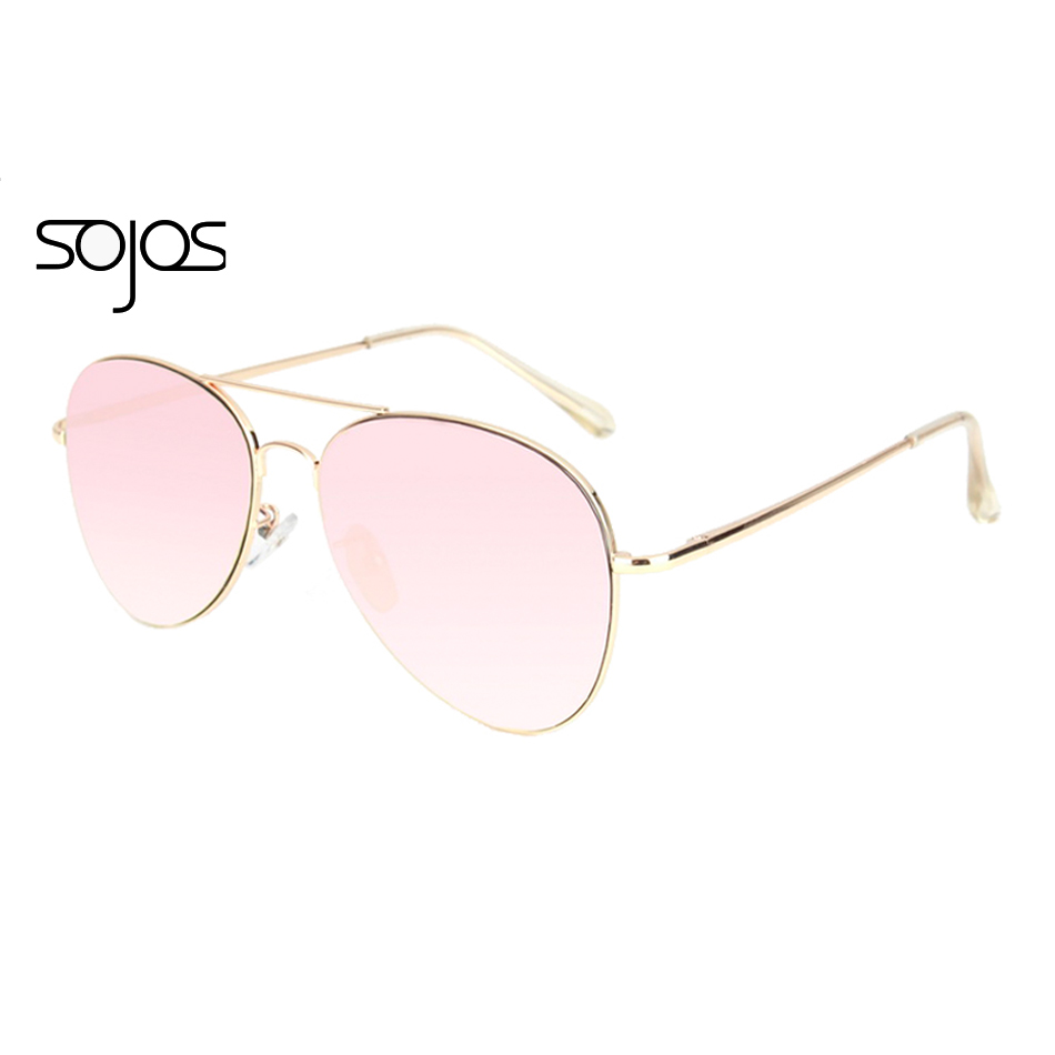 SojoS Brand Classic Aviator Pilot Metal Sunglasses Men Spring Hinges Mirror Sun Glasses Male Fishing Female Outdoor Sports 1030(China (Mainland))