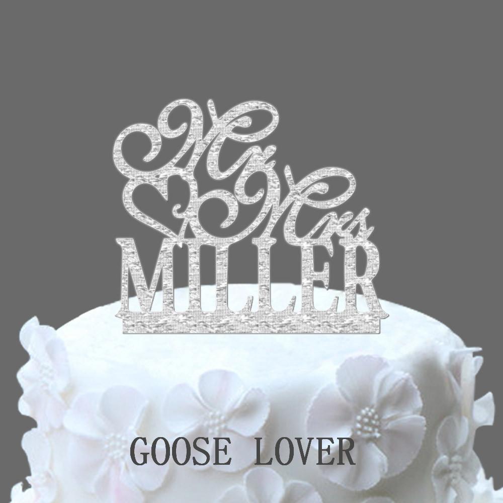 Unique Wedding Gifts Buy Online : Wedding Cake Topper Mr and Mrs Cake Topper Unique Wedding Gift ...