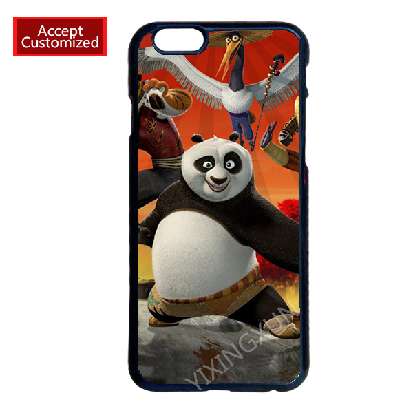 Kung Fu Panda Case Cover for LG G2 G3 G4 iPhone 4 4S 5 5S 5C 6 6S 7 Plus iPod Touch 4 5 6 Accept DIY Customized(China (Mainland))