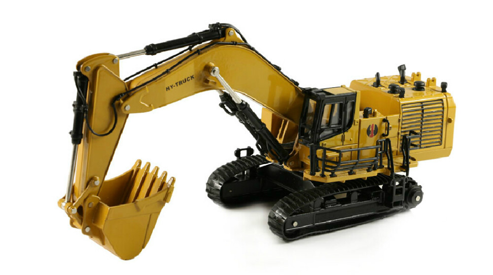 1:50 Huayi Hydraulic Excavator toy(China (Mainland))
