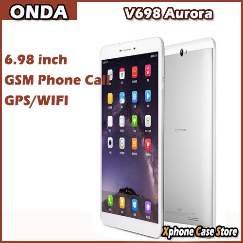 Original ONDA V698 Aurora Phone Call Tablet PC 6 98 inch Android 4 3 Quad Core