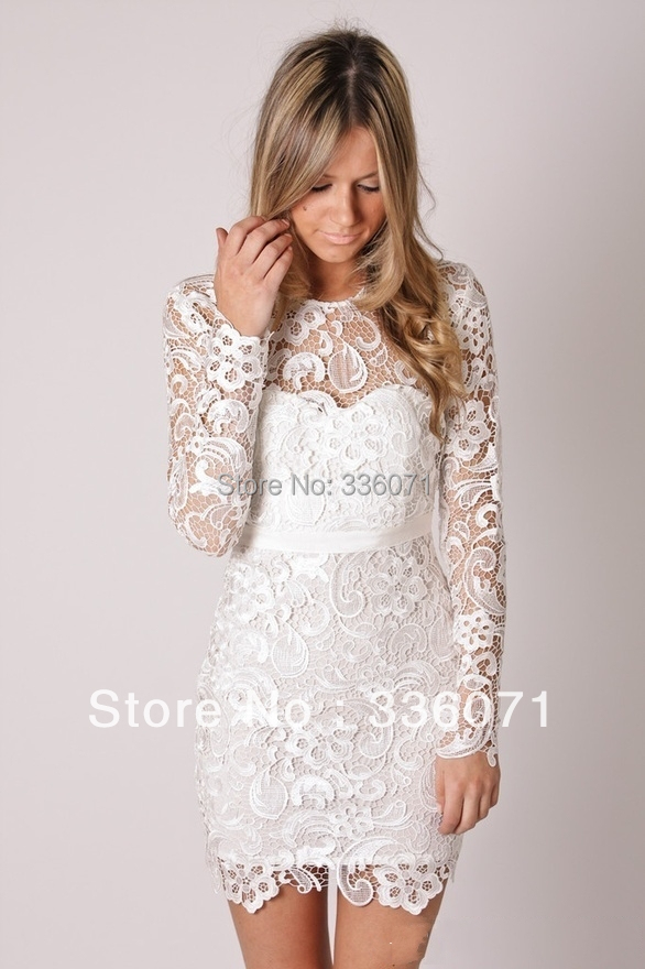 Brand designer free shipping new arrival knee length short for Designer brand wedding dresses