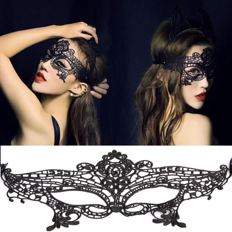 Sexy Venetian Lace Feather Masquerade Mask Paillette Flower Party Eye Masks Hot Selling masked ball party mask freeship(China (Mainland))