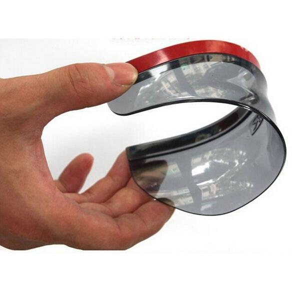 Car Stickers Rearview mirror Rain Shade Car Rearview Mirror Rain Rainproof eyebrow cover for VAZ Lada