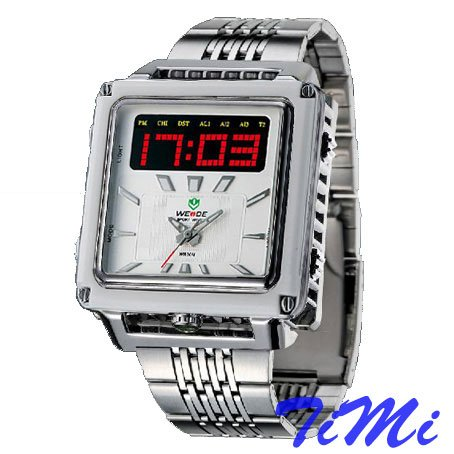OHSEN Dual Timezone Chrono Waterproof Mens Sport Watch<br><br>Aliexpress