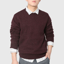 Unique Men Knitted Sweater Elbow Patch Designer Pullover Crew Neck Plain Male Wear Casual Vintage England Style(China (Mainland))
